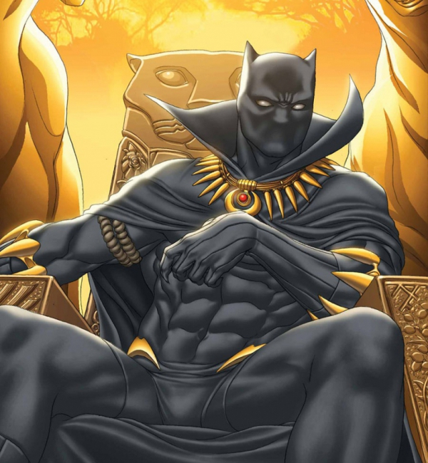 """The first black superhero """"The Black Panther"""""""