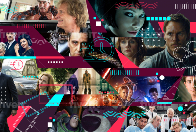 14 Movies and series collage