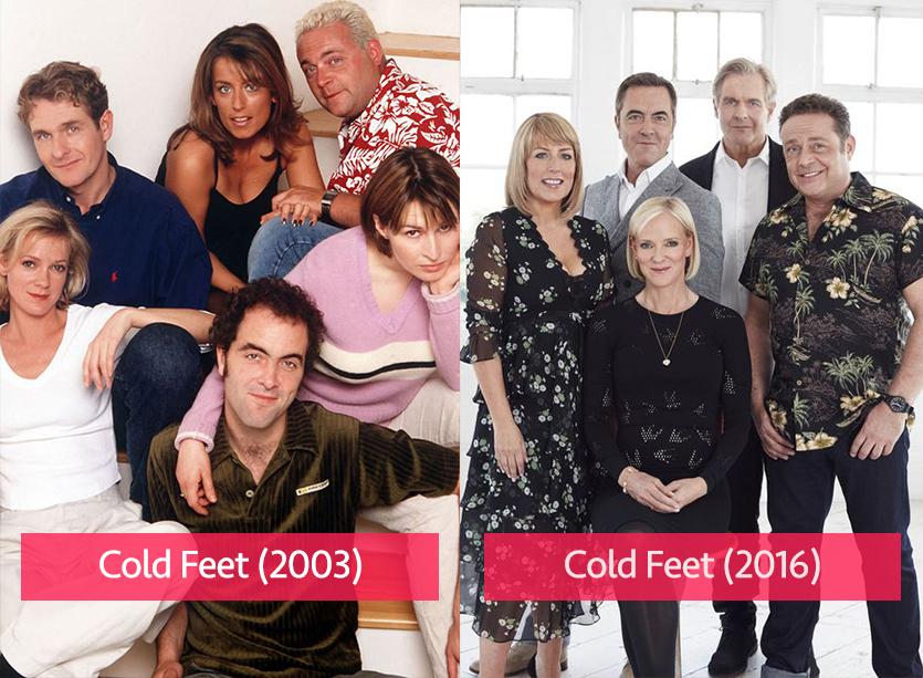Cold Feet 2003 vs 2016