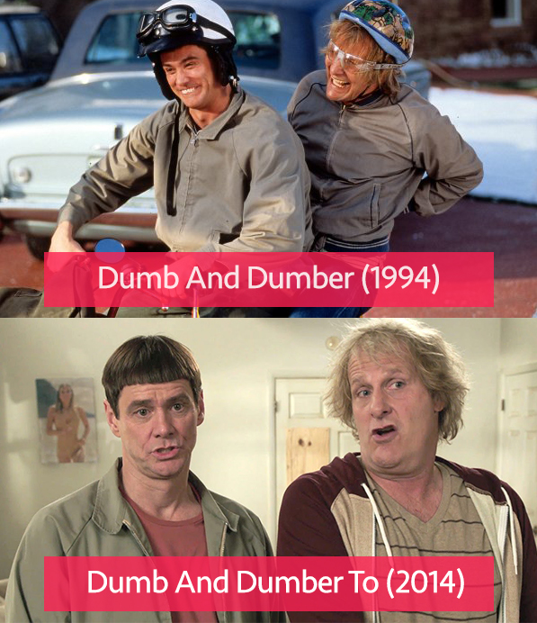 Dumb And Dumber vs Dumb And Dumber To