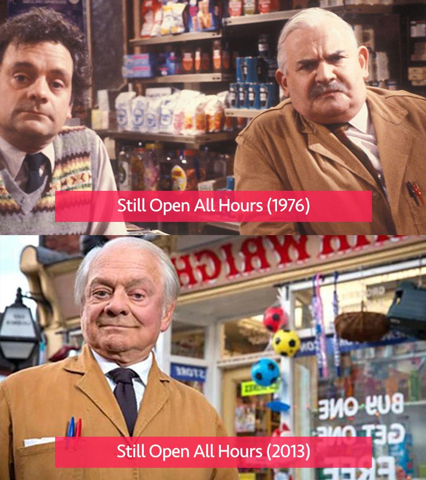 Still Open All Hours 1976 vs Still Open All Hours 2013
