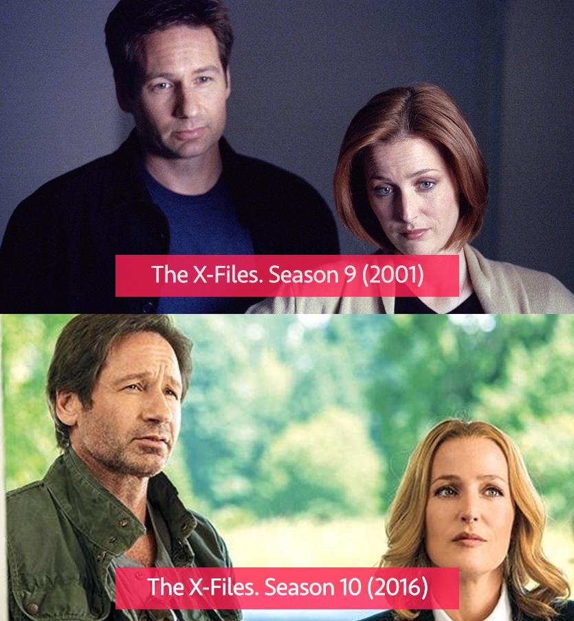 The X-Files 2001 vs 21015