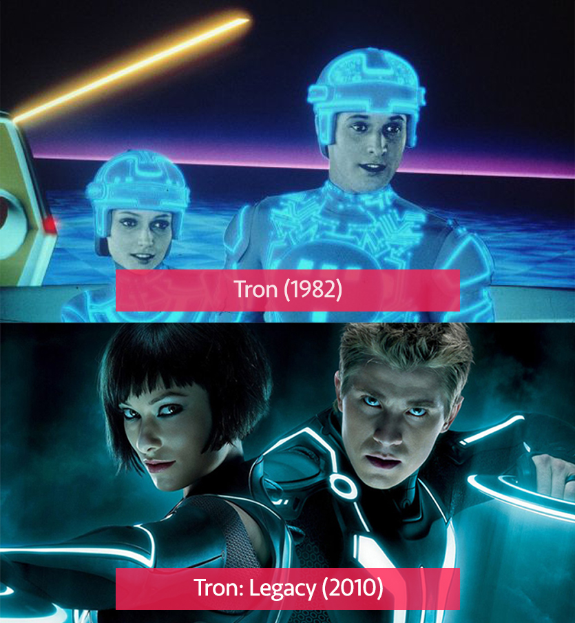 Tron vs Tron: Legacy