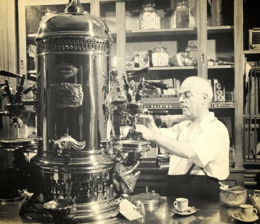 Luigi Bezzera and his Espresso machine