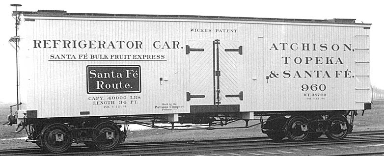 Refrigerator car in Santa Fe