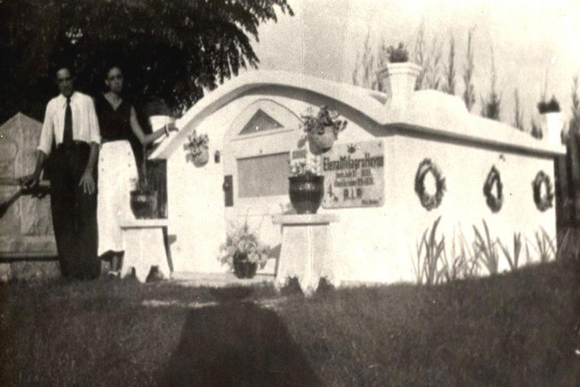 Maria Elena Milagro de Hoyos mausoleum