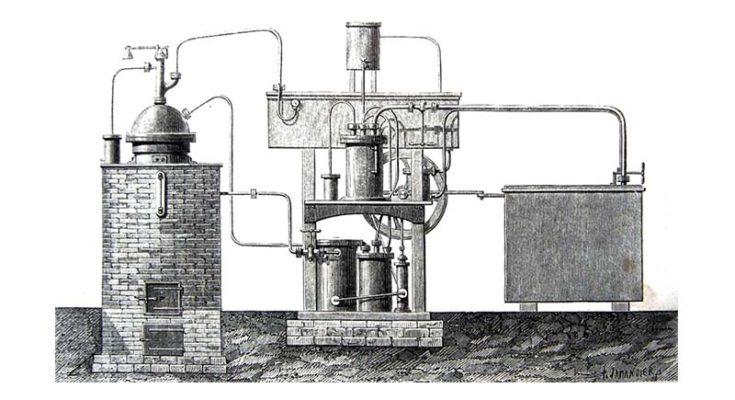 Ferdinand Carré ice-making machine