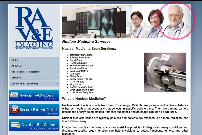 Harold stock photo at medical website