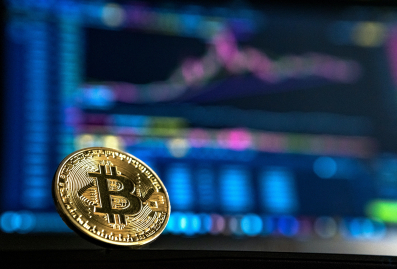 Bitcoin trading chart