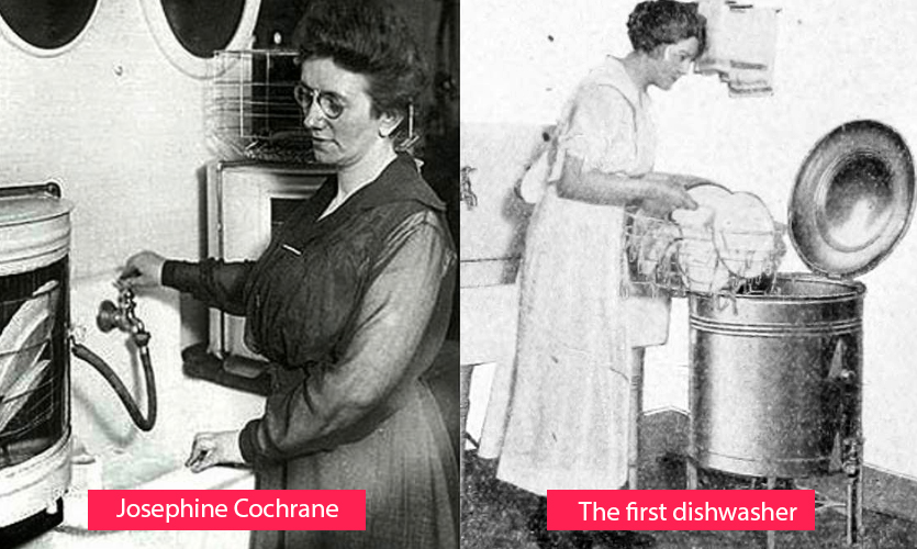 Josephine Cochrane - inventor of the first dishwasher