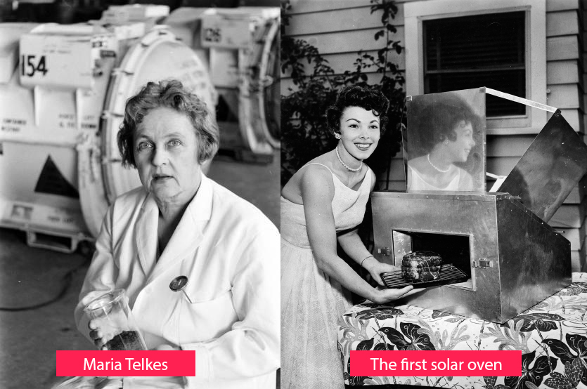 Maria Telkes - inventor of solar ovens