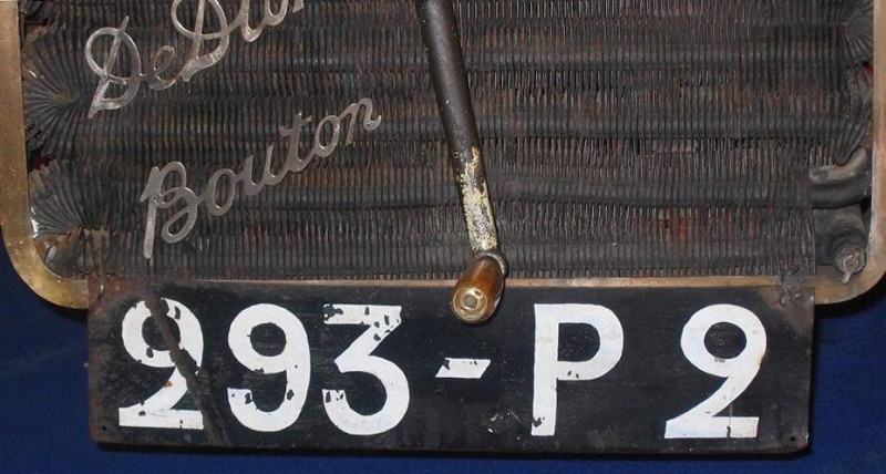 France numeric license plate