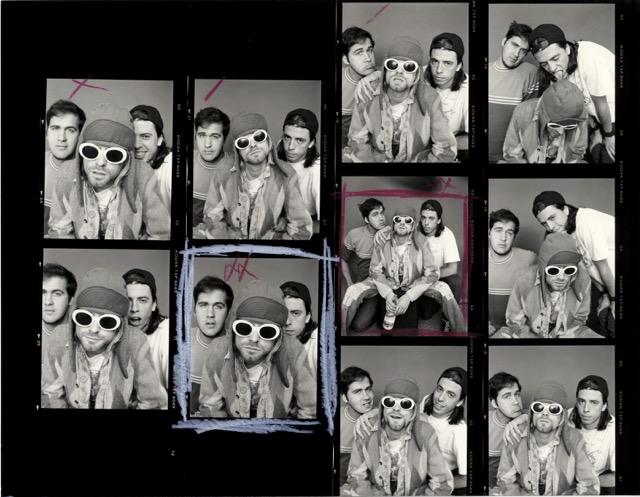 Nirvana photoshoot