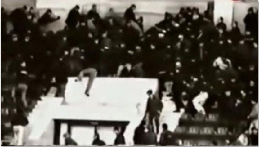 1975 Sokolniki tribune before the tragedy